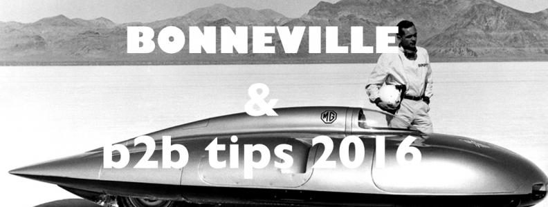 Onze B2B tips voor 2016