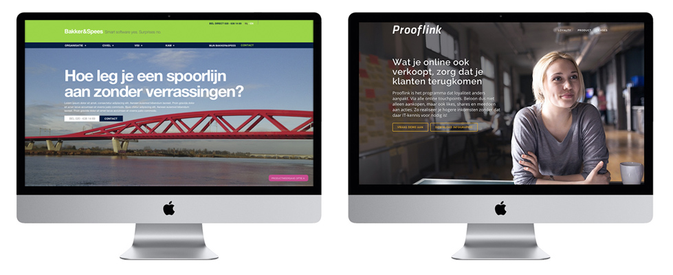 Bakker & Spees / Prooflink websites
