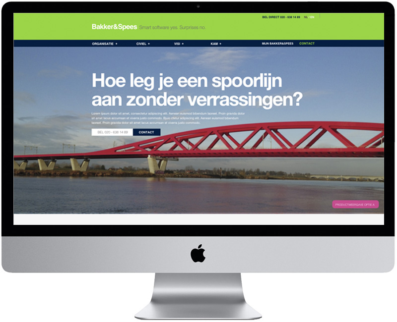 Bakker & Spees website